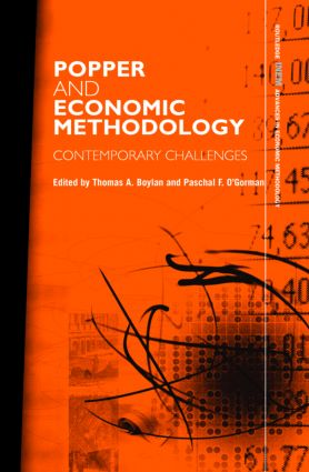Popper and Economic Methodology: Contemporary Challenges (Hardback) book cover