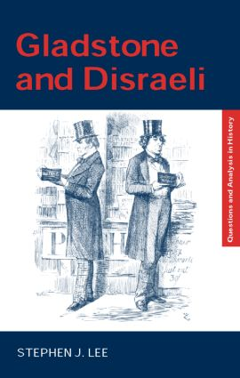 Gladstone and Disraeli book cover