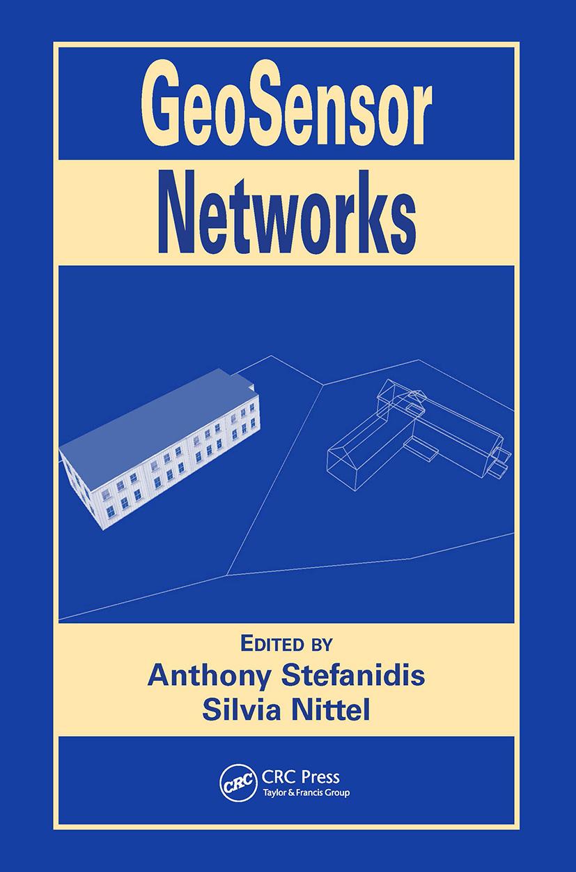 GeoSensor Networks: 1st Edition (Hardback) book cover