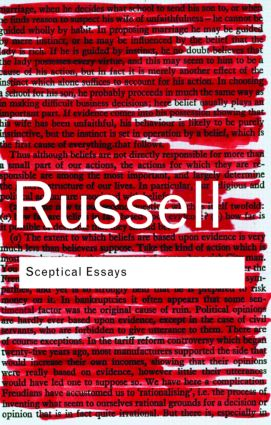 Sceptical Essays: 2nd Edition (Paperback) book cover