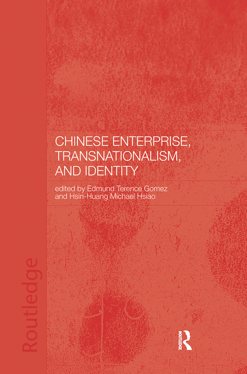 Chinese Enterprise, Transnationalism and Identity: 1st Edition (Hardback) book cover