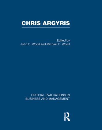 Chris Argyris (Hardback) book cover
