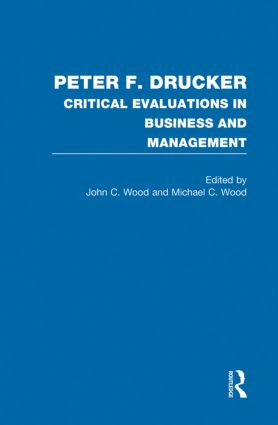 Peter F. Drucker (Hardback) book cover