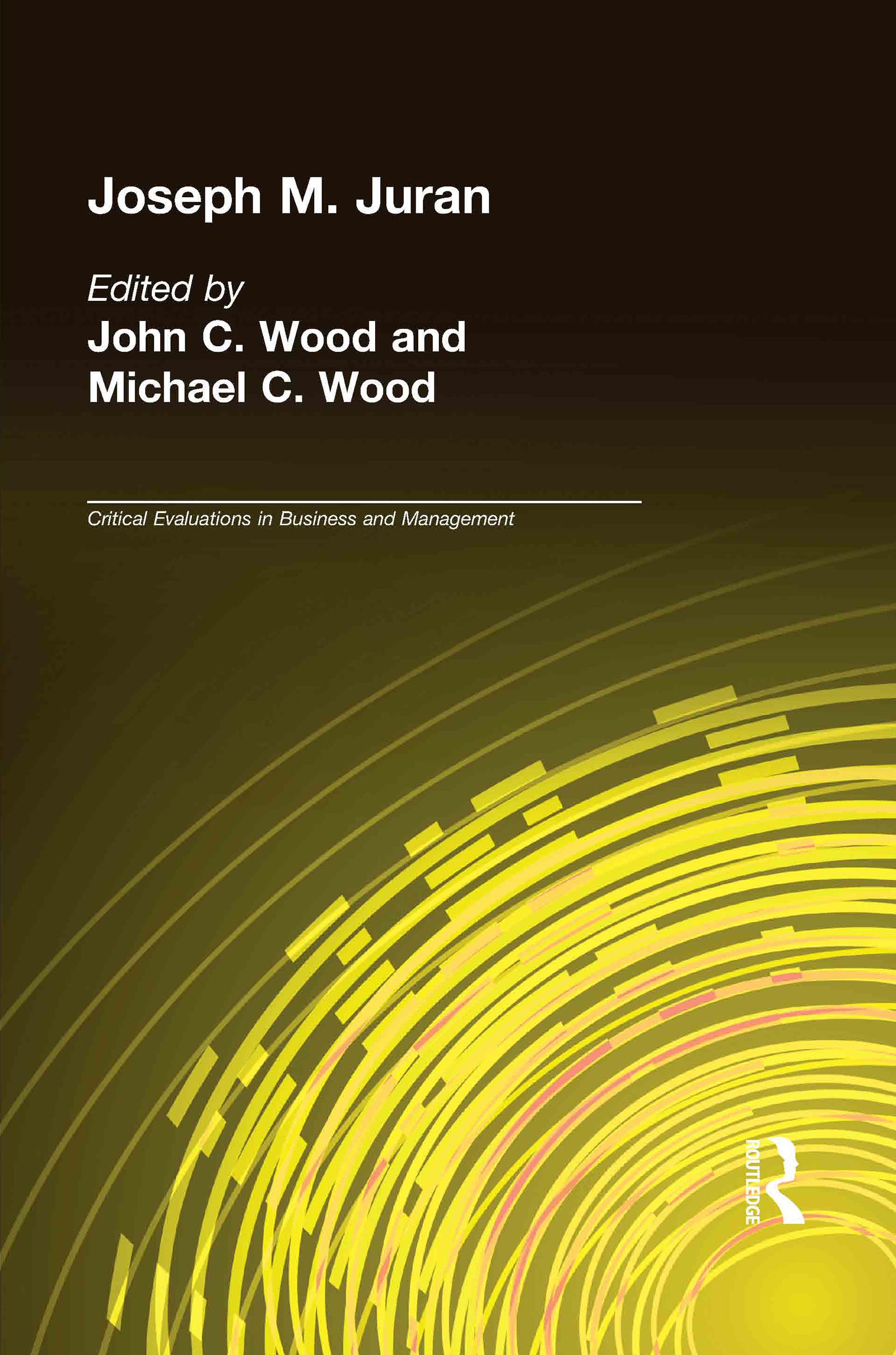 Joseph M. Juran (Hardback) book cover
