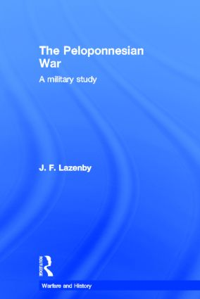 The Peloponnesian War book cover
