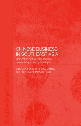 Chinese Business in Southeast Asia (Paperback) book cover