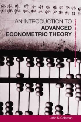 Advanced Econometric Theory book cover
