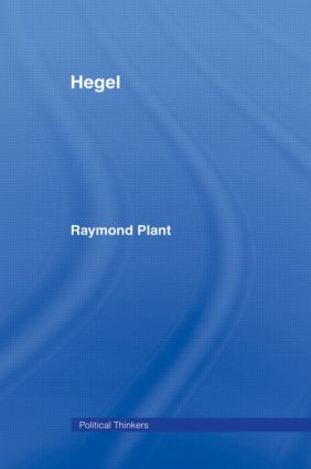 Hegel (Hardback) book cover