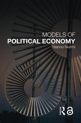 Models of Political Economy: 1st Edition (Paperback) book cover