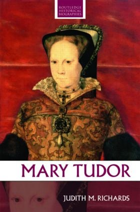 Mary Tudor book cover