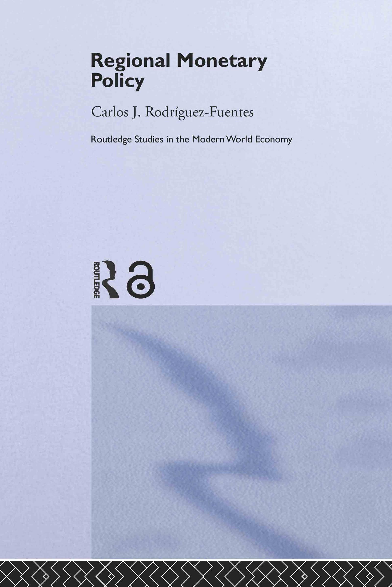 Regional Monetary Policy: 1st Edition (Hardback) book cover