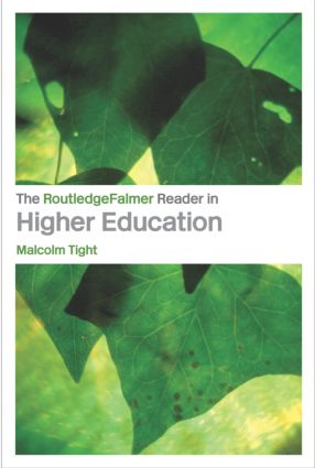 The RoutledgeFalmer Reader in Higher Education (Paperback) book cover