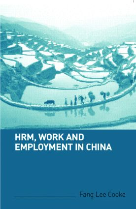 HRM, Work and Employment in China: 1st Edition (Paperback) book cover
