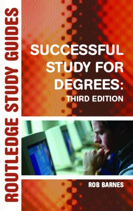 Successful Study for Degrees: 3rd Edition (Paperback) book cover