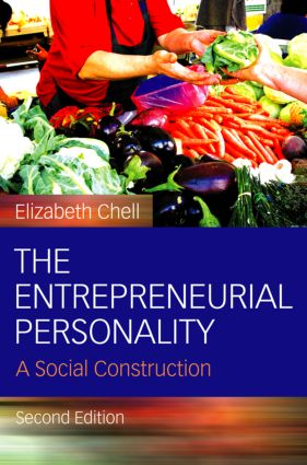 The Entrepreneurial Personality: A Social Construction, 2nd Edition (Hardback) book cover