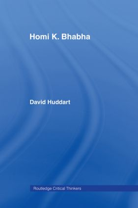 Homi K. Bhabha book cover