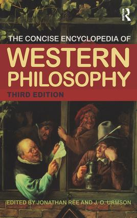 The Concise Encyclopedia of Western Philosophy