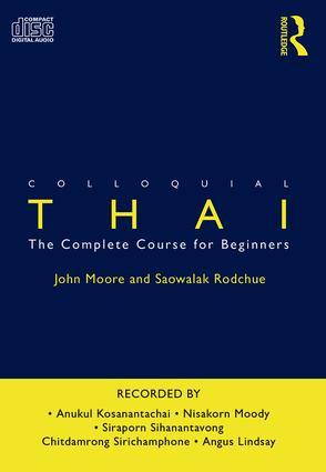 Colloquial Thai book cover