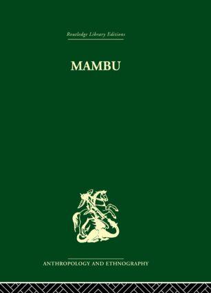 Mambu: A Melanesian Millennium, 1st Edition (Hardback) book cover