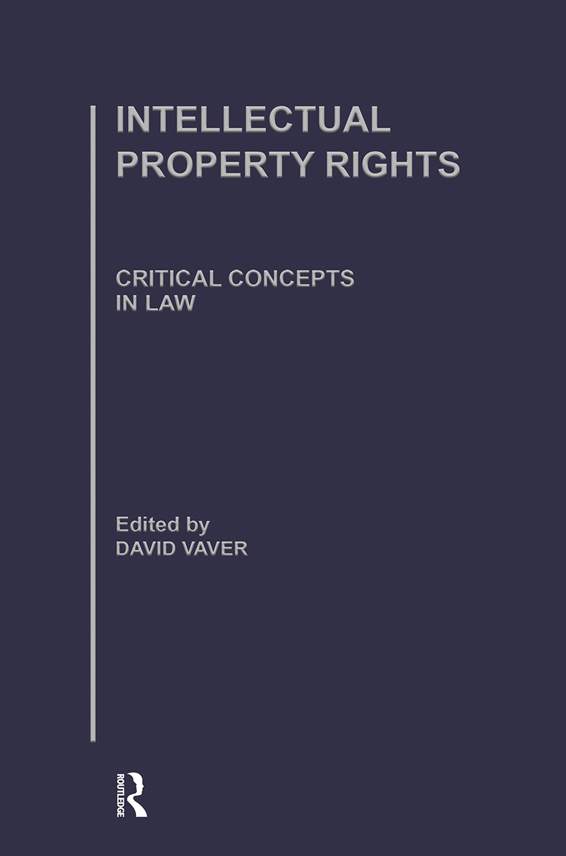 Intellectual Property Rights (Hardback) book cover