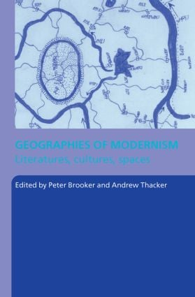Geographies of Modernism (Paperback) book cover