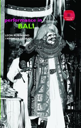 Performance in Bali (Hardback) book cover