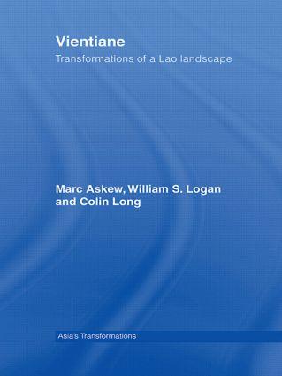 Vientiane: Transformations of a Lao landscape book cover
