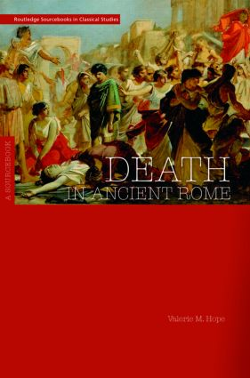 Death in Ancient Rome: A Sourcebook (Paperback) book cover