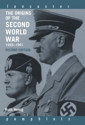 The Origins of the Second World War 1933-1941: 2nd Edition (Hardback) book cover