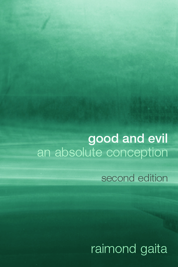 Good and Evil: An Absolute Conception, 2nd Edition (Hardback) book cover