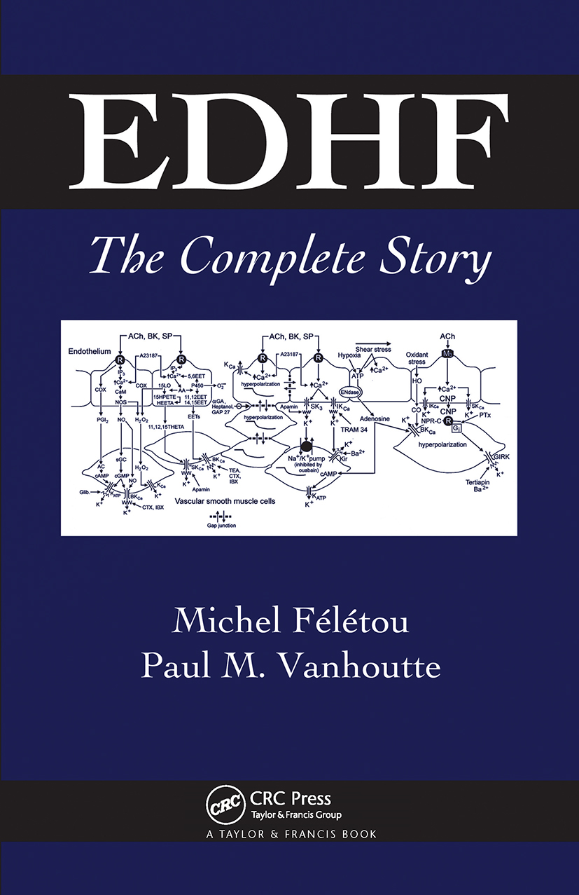 EDHF: The Complete Story, 1st Edition (Hardback) book cover