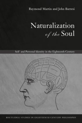 Naturalization of the Soul: Self and Personal Identity in the Eighteenth Century (Paperback) book cover