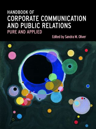 A Handbook of Corporate Communication and Public Relations: 1st Edition (Hardback) book cover