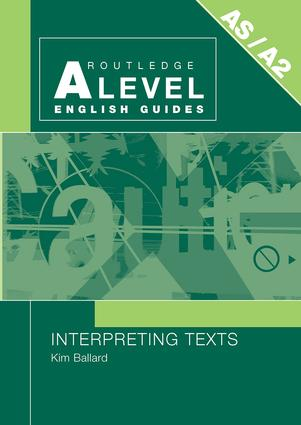 Interpreting Texts: 1st Edition (Paperback) book cover