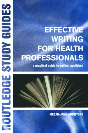 Effective Writing for Health Professionals