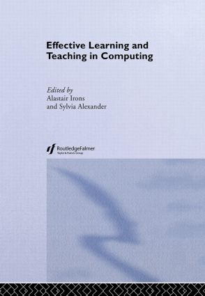 Effective Learning and Teaching in Computing book cover