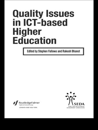 Quality Issues in ICT-based Higher Education book cover