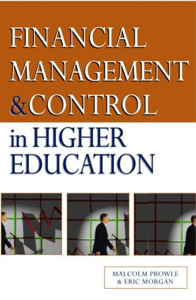 Financial Management and Control in Higher Education: 1st Edition (Paperback) book cover