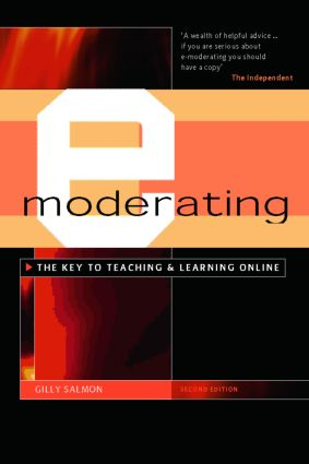 E-Moderating: 2nd Edition (Hardback) book cover