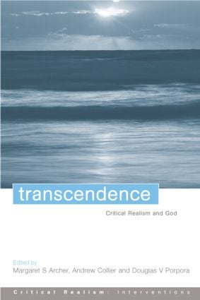 Transcendence: Critical Realism and God book cover