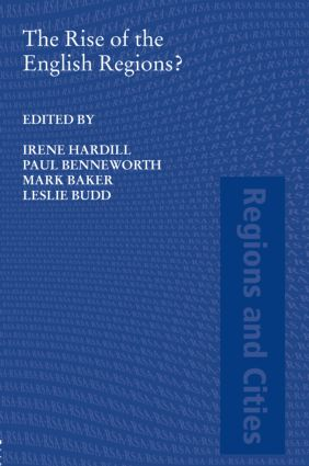 The Rise of the English Regions?: 1st Edition (Hardback) book cover