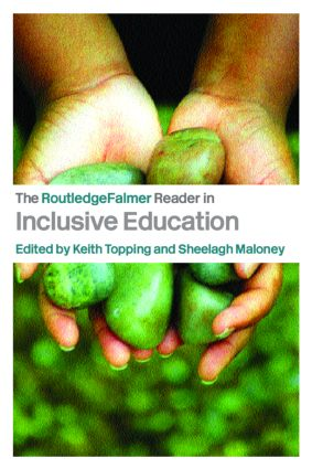 The RoutledgeFalmer Reader in Inclusive Education book cover