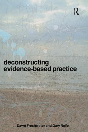Deconstructing Evidence-Based Practice (Paperback) book cover