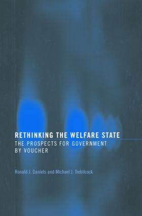Rethinking the Welfare State: Government by Voucher (Paperback) book cover