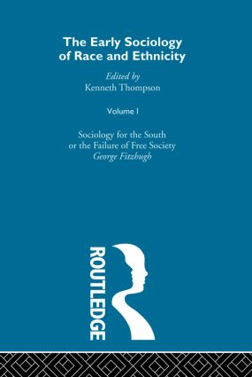The Early Sociology of Race & Ethnicity Vol 1 book cover
