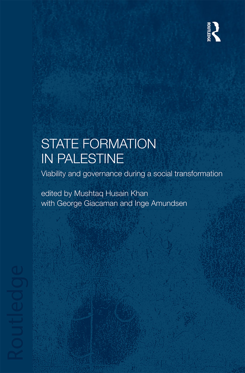 State Formation in Palestine: Viability and Governance during a Social Transformation book cover