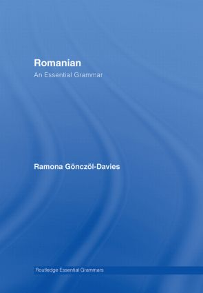 Romanian: An Essential Grammar book cover