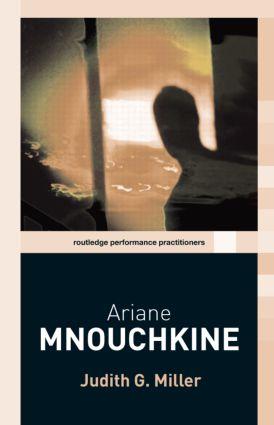 Ariane Mnouchkine book cover