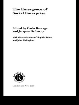 The Emergence of Social Enterprise: 1st Edition (Paperback) book cover