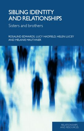 Sibling Identity and Relationships: Sisters and Brothers (Paperback) book cover
